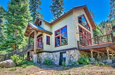 Fallen Leaf Lake home for sale